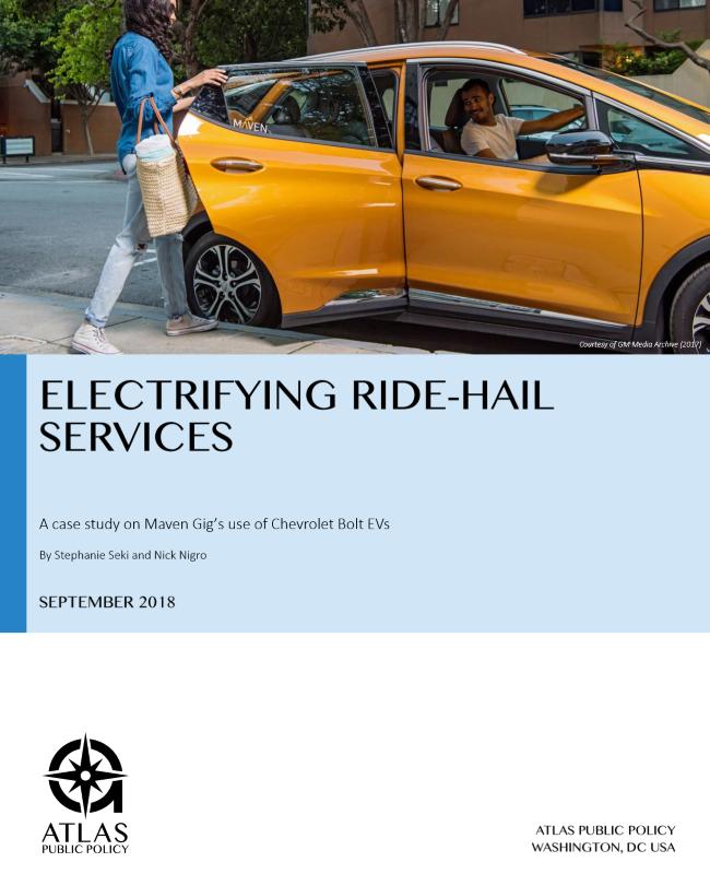 Electrifying Ride-Hail Services – Atlas EV Hub