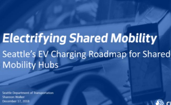 Electrifying Shared Mobility Hubs Webinar