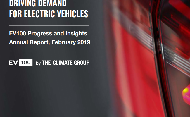 Business Driving Demand for Electric Vehicles