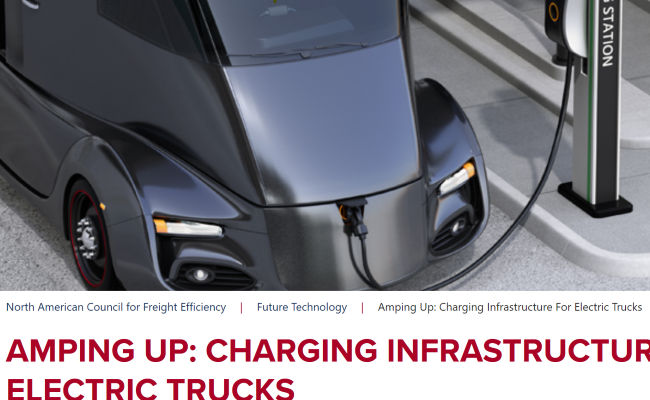 Amping Up: ChargingInfrastructure for Electric Trucks