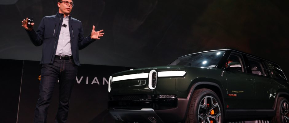 Facing Falling Profits, Ford Invests in Rivian