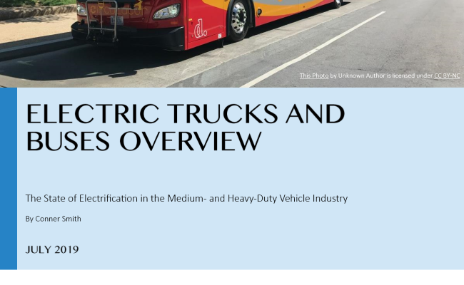 Electric Trucks and Buses Overview