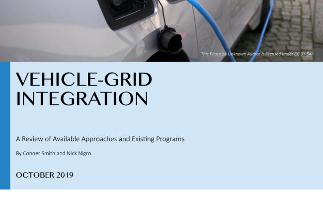 Vehicle-Grid Integration