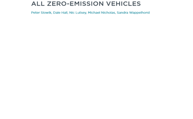 Funding the transition to all zero-emission vehicles