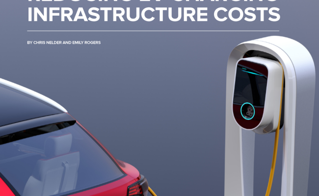 Reducing EV Charging Infrastructure Costs