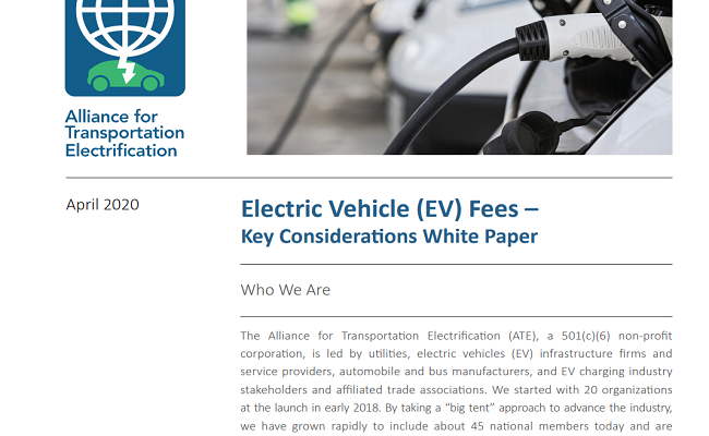Electric Vehicle Fees – Key Considerations