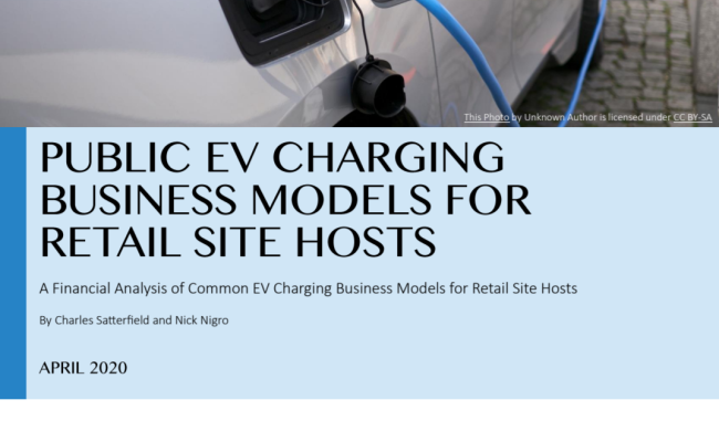 Public EV Charging Business Models for Retail Site Hosts