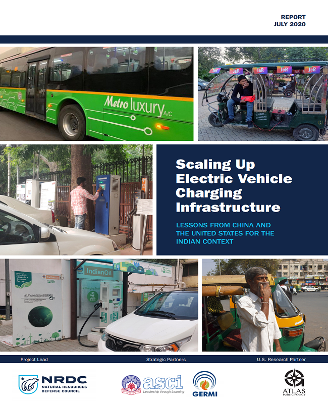 Scaling Up Electric Vehicle Charging Infrastructure: Lessons from China and the United States for the Indian Context