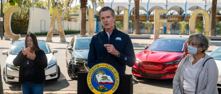 EV Market Picking Up Speed as California Sets an Ambitious Goal