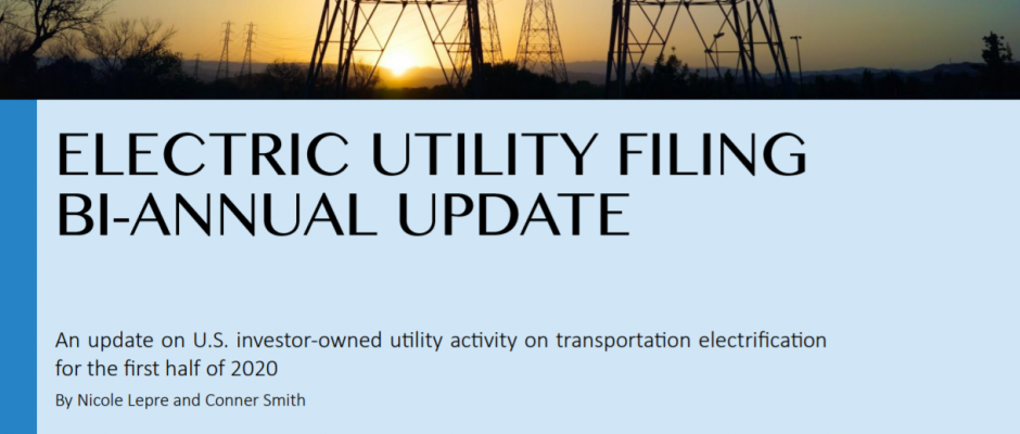 Electric Utility Filing 1st 2020 Bi-Annual Update
