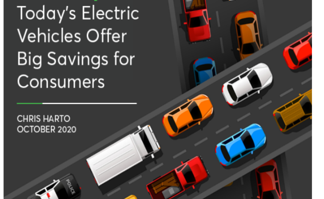 Electric Vehicle Ownership Costs: Today's Electric Vehicles Offer Big Savings to Consumers
