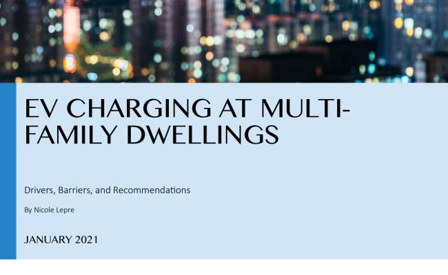 EV Charging at Multi-Family Dwellings
